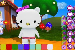 Hello Kitty Spiele :Dress-Up 2